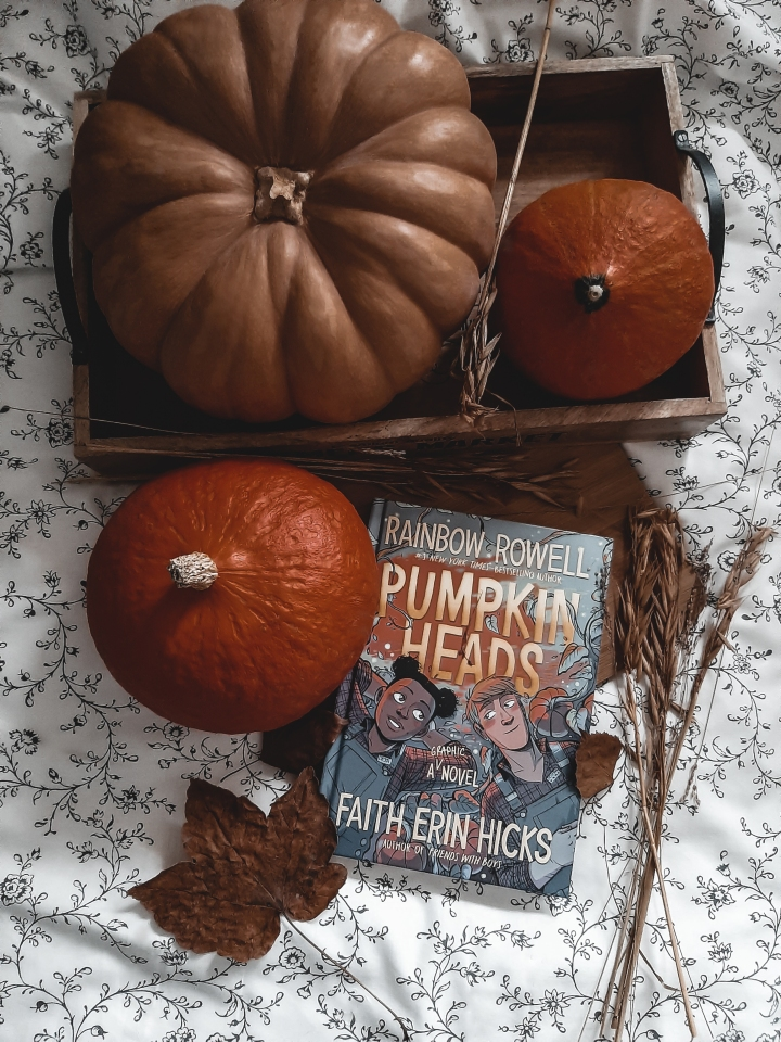 [Avis rapide] PUMPKINHEADS | Rainbow Rowell & Faith Erin Hicks